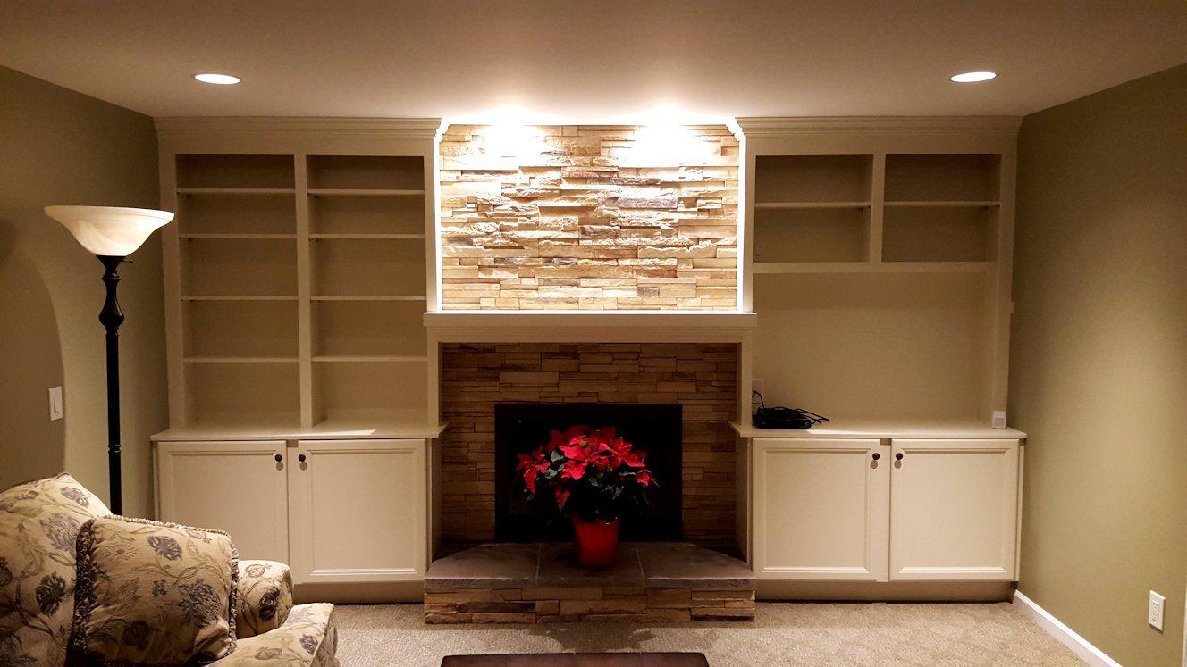 J & M Contractors — Fireplaces / Mantels