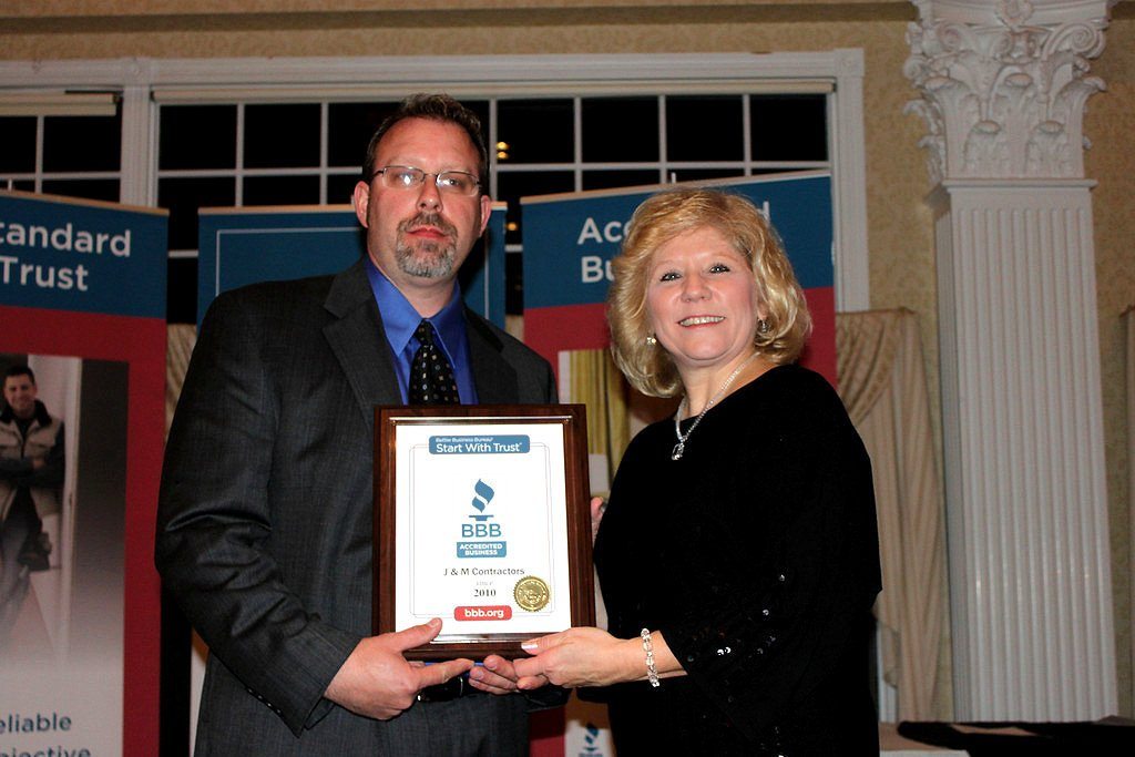 Hartford Connecticut Home Improvement Company — Michael Spellman—Owner of J & M Contractors, an A+ rated business with the Better Business Bureau