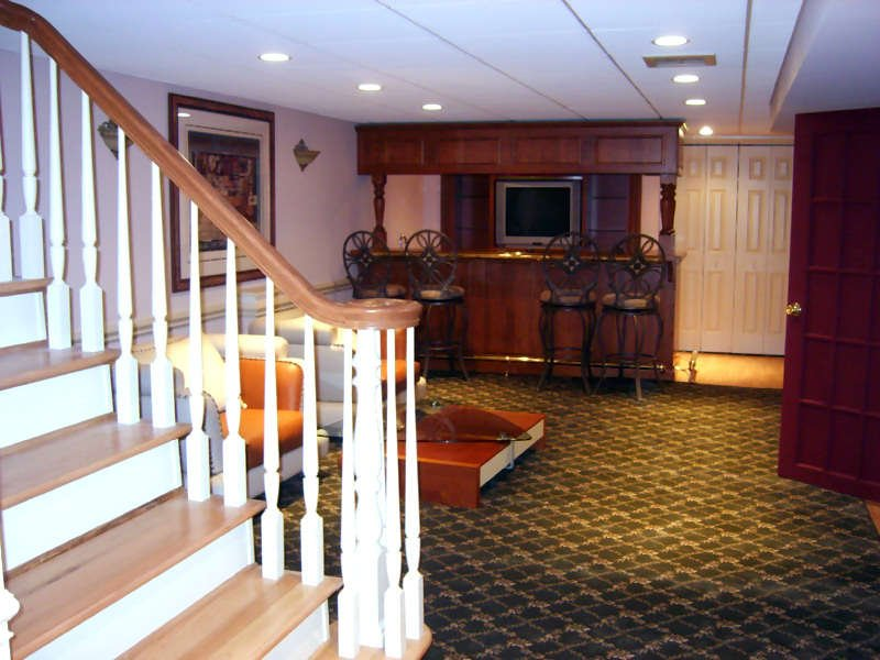 Basement Redesign Hartford