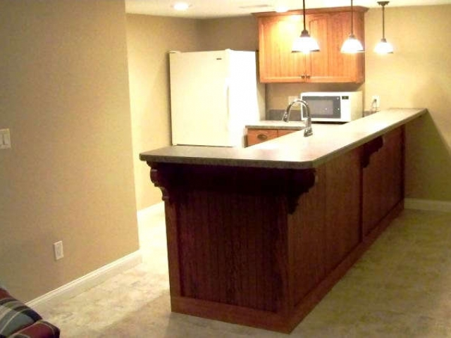 Basement Bar Installation Hartford
