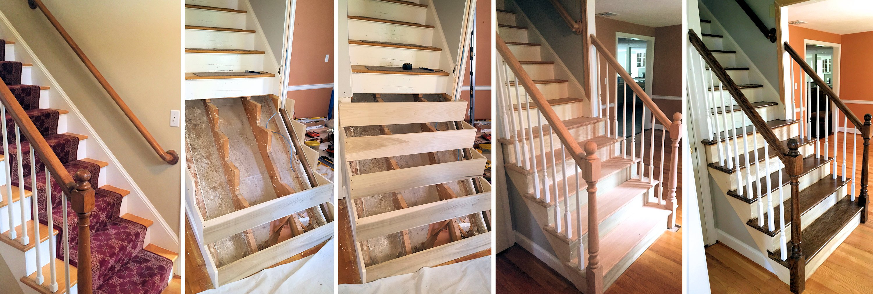 J & M staircases - 5 Step Process