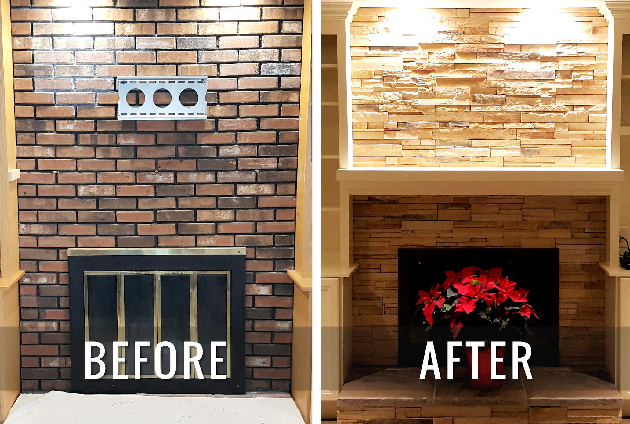 J & M Contractors — Custom Fireplace and Mantel Design in Hartford County